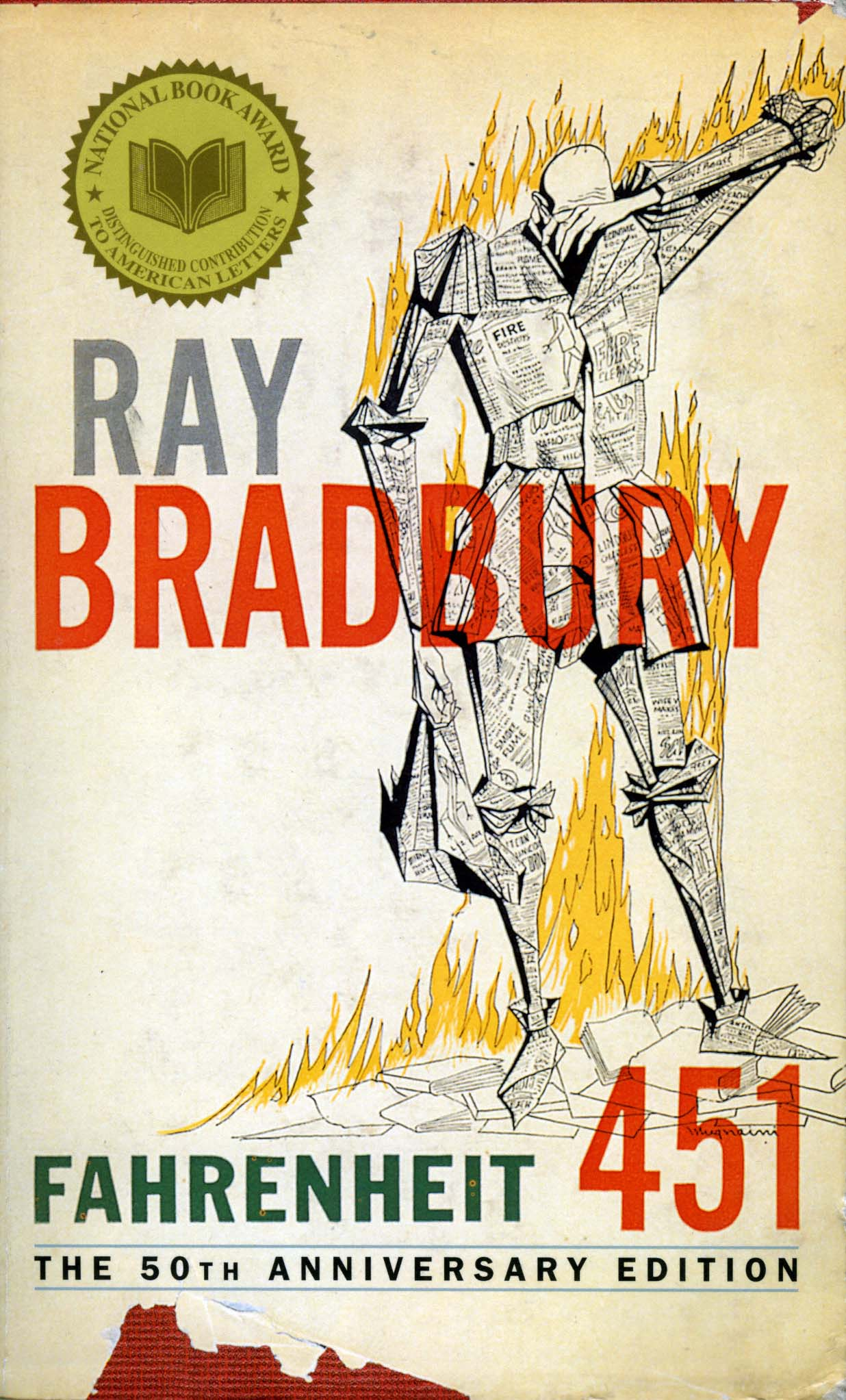 Those Who Dont Build Must Burn fahrenheit 451